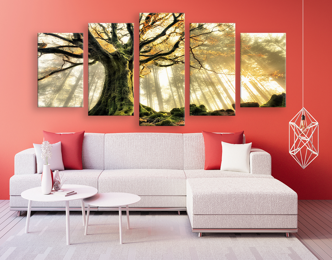 buy wall art of high quality image of a mystical tree on xl canvas print