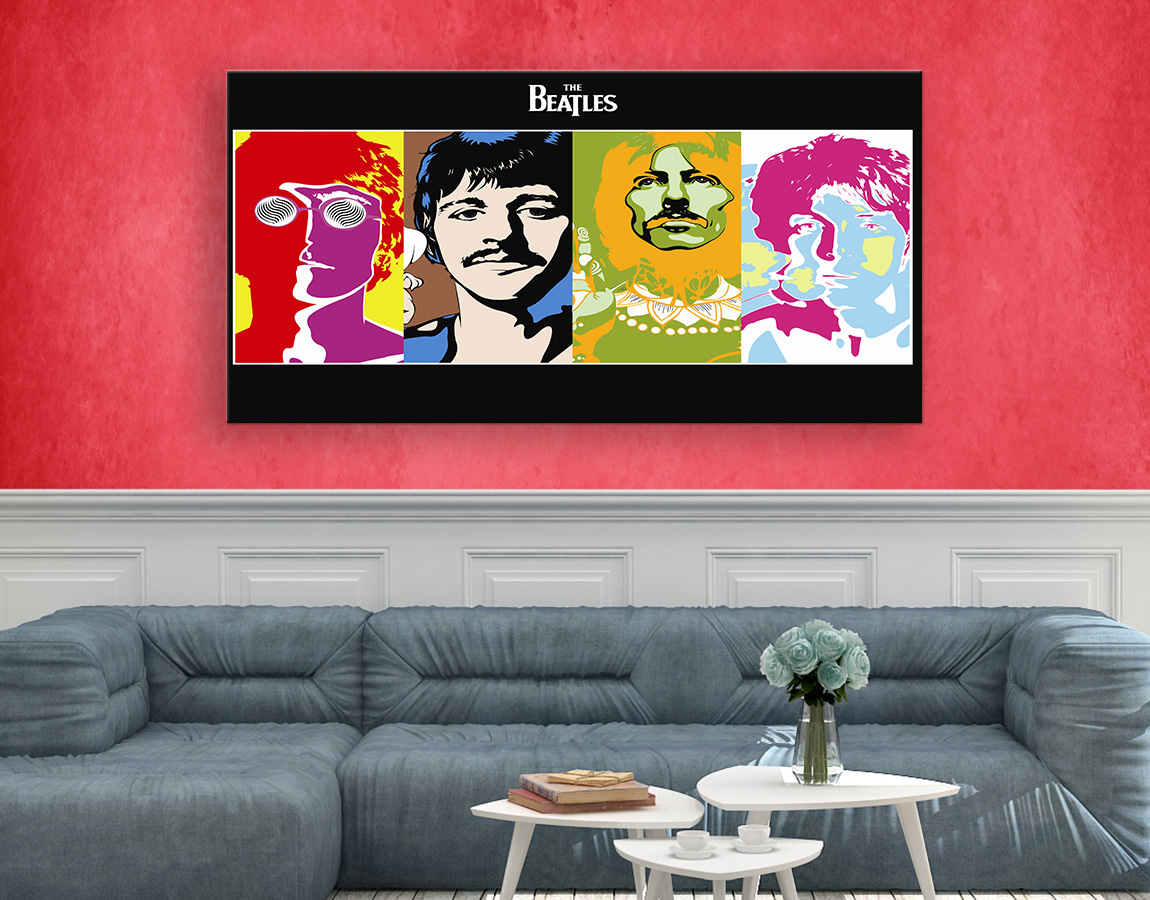 The Beatles Abstract